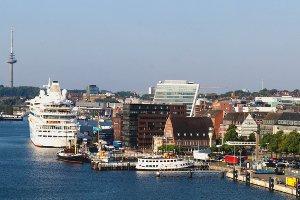 Diesel-Fahrverbot in Kiel: Eine Karte brauchen Sie nicht, da nur ein einziger Straßenabschnitt betroffen wäre.