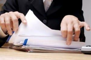Unterlagen für die Kfz-Zulassungsstelle