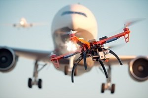 Ein Drohnen-Flugverbot gilt vor allem in der Nähe von Flughäfen.