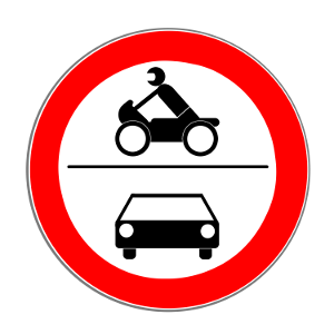 45,7/ x 30,5/ cm Bus Parking Only Schild