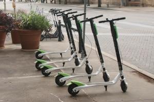 Zur E-Mobilität gehören auch die E-Scooter.