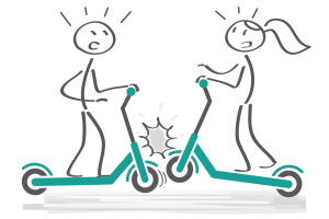 Was ist zu beachten, wenn E-Scooter in Unfälle verwickelt sind?