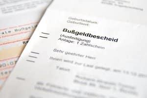 Möglichkeiten Einspruch gegen den Bußgeldbescheid einzulegen