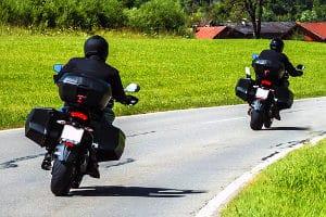 Auch bei Motorrädern ist immer häufiger eine elektr. Wegfahrsperre Standard.
