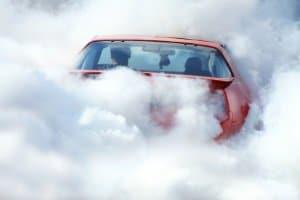 Für Euro-3-Modelle geltendes Fahrverbot: Pkw und andere Kfz dieser Norm können die Luft stark verunreinigen.