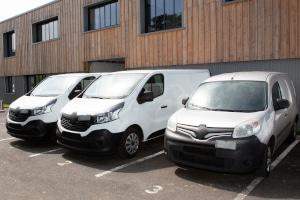 Sie können bei Europcar ebenfalls Transporter und LKWs ausleihen.