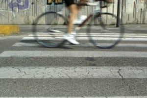 Bei einem Fahrrad mit Riemenantrieb wird die Kette durch einen Zahnriemen ersetzt.