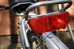 Für ein Fahrrad im Winter ist due Beleuchtung besonders wichtig.