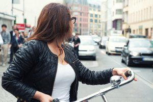 Ein Fahrraddiebstahl kommt vor allem in großen Städten immer wieder vor.