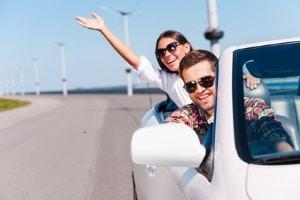 Ein Fahrtraining ohne Führerschein kann auf einem Verkehrsübungsplatz stattfinden.