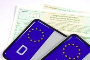 Der Fahrzeugbrief heißt jetzt Zulassungsbescheinigung Teil II.