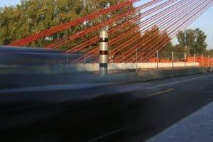 Feste Blitzer dienen in Sachsen der 24-Stunden-Überwachung.