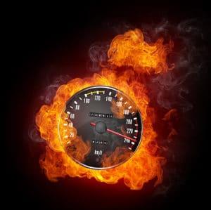 Ursächlich für Feuer im Tunnel sind häufig überhöhte Geschwindigkeiten.