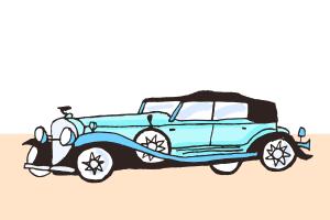 Das erste Auto von Fiat lief im Gründungsjahr 1900 vom Band.