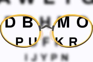 Führerschein: Um Ihre Brille austragen zu lassen, müssen Sie die Verbesserung Ihrer Sehkraft nachweisen.
