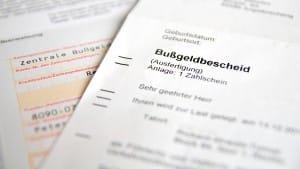 Wie hoch dürfen die Gebühren beim Bußgeldbescheid sein?