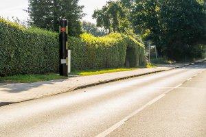 Ein Gehweg kann auch ohne Schild erkennbar sein.