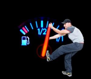 Auf die Autobahn sollten Sie nur mit ausreichen Sprit im Tank fahren