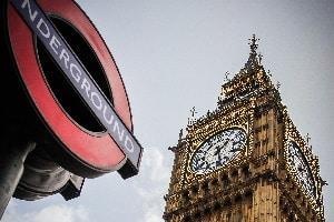 Die zulässige Geschwindigkeit ist in England gesetzlich geregelt.