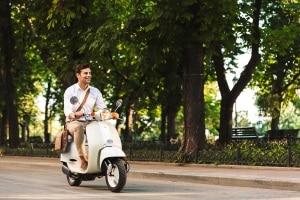 Geschwindigkeitsbegrenzer: Roller oder Moped können damit ausgestattet sein.