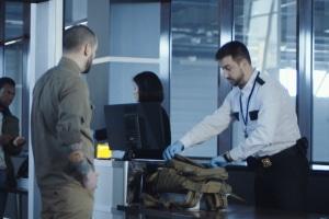 Grüner Ausgang: Der Zoll kann dennoch Ihr Gepäck überprüfen.