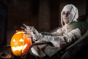Hält sich die Mumie nicht an die Vorschriften, muss auch sie an Halloween mit einem Bußgeld rechnen.
