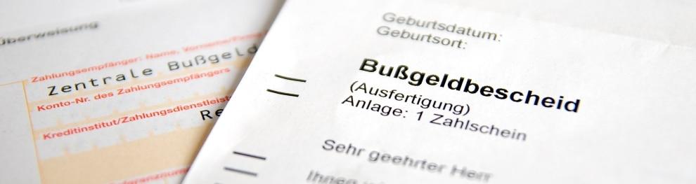 Einspruch gegen Bußgeldbescheid – Auch Behörden unterlaufen Fehler