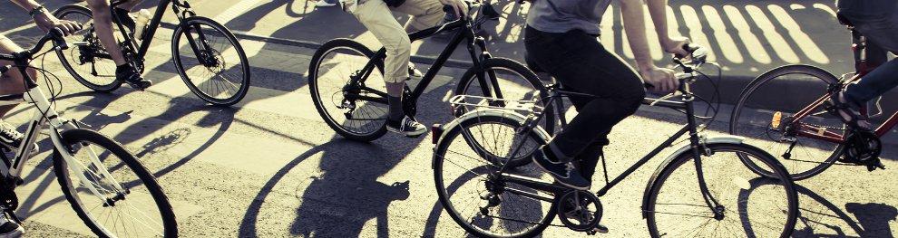 Ein Radweg bedeutet mehr Sicherheit im Straßenverkehr