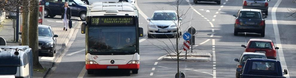 Busspur – So verhalten Sie sich richtig