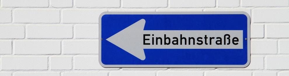 Bußgeldkatalog Einbahnstraße – Was droht?