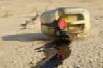 illegal Altöl entsorgen