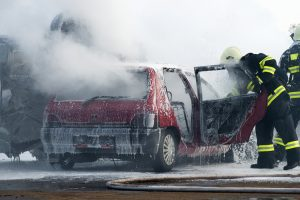 In der Kfz-Teilkasko ist auch Fahrzeugbrand erfasst