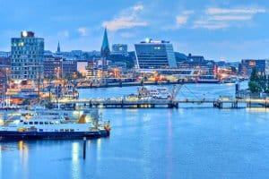 Kiel: Ein Fahrverbot für Diesel wird auch hier zur Verbesserung der Luftqualität in Betracht gezogen.