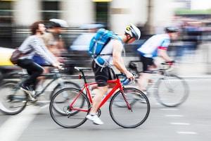 Durch das Klimaschutz Sofortprogramm 2022 soll der Radverkehr gestärkt werden.