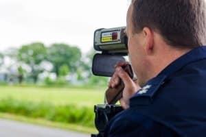 Oftmals gibt es kein Blitzbild bei der Laser-Geschwindigkeitsmessung als Nachweis.