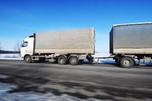 Welche Lastwagen-Arten zum Einsatz kommen, wird durch die Ladung bestimmt.