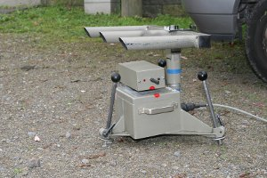 Ein Lichtschranken-Messgerät wie der ESO µP 80 spürt Verstöße auf.