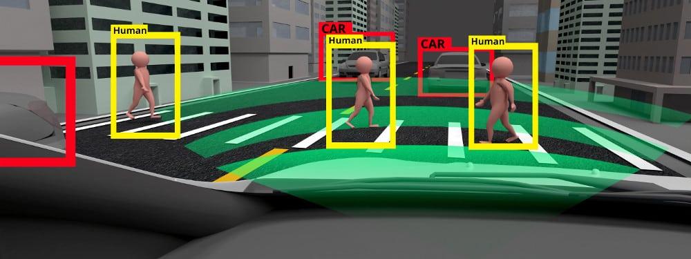 Lidar wird beim autonomen Fahren verwendet - so kann ein Objekt erkannt und identifiziert und eine entsprechende Reaktion eingeleitet werden.