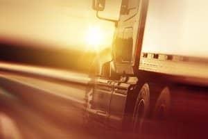 Auf der Autobahn müssen LKW Maut zahlen