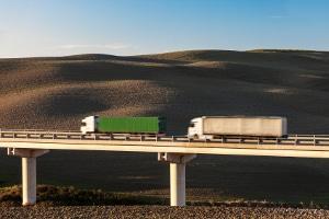 Die LKW-Maut wird in Dänemark wie in anderen europäischen Ländern verlangt.