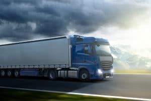 Die Lkw-Maut wird in Österreich mit einer On-Board-Unit erfasst.