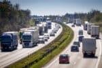 Eine LKW-Maut fällt in Polen nur auf bestimmten Autobahnen an.