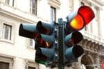 LKW-Rotlichtverstoß