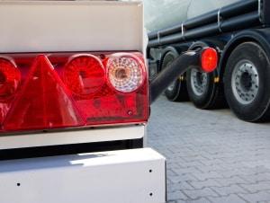 LKW-Rückleuchten: Als LED sind sie nur unter bestimmten Voraussetzungen möglich.