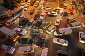 In Malta ist der Verkehr oft unübersichtlich.