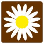 Verkehrszeichen in Dänemark: Margeritenweg