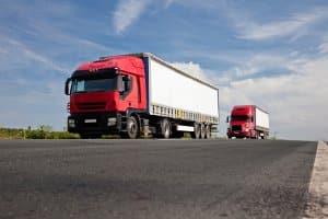 Maut in England: LKW-Fahrer müssen diese seit 2014 entrichten.