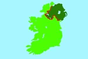 Wer mit dem Mietwagen von Irland nach Nordirland fahren möchte, benötigt meist eine Genehmigung.