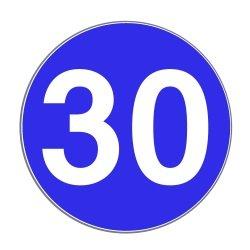 Eine Mindestgeschwindigkeit auf der Autobahn kann durch das Zeichen 275 angeordnet sein.