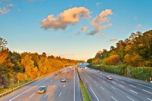 Mindestgeschwindigkeit: Die deutsche Autobahn ist davon betroffen.